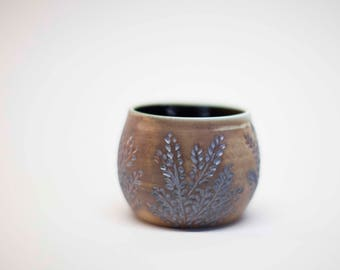 wheel thrown cup, pottery cup, stoneware cup, ceramic cup, ceramic glass, drinking glass