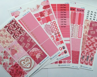 Love Blooms Weekly Sticker Kit