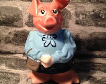 Wade Natwest Lady Hilary piggy money box ceramic