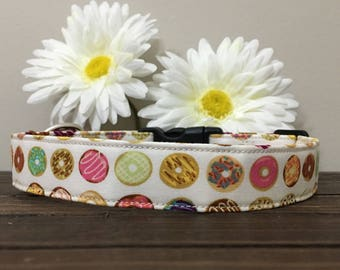 dog collar, donut dog collar, fun dog collar, food dog collar, donut flower, donut collar, donut , girl dog collar, boy dog collar,