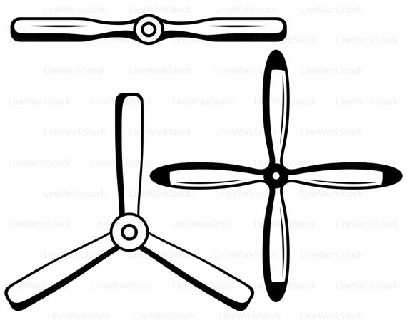 Propeller Clip Art : Aircraft propeller svg clipart