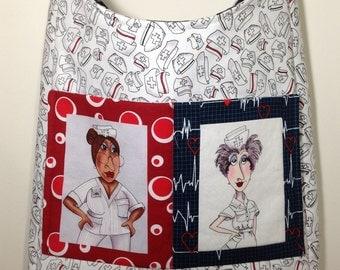 Nurse Theme Messenger Bag