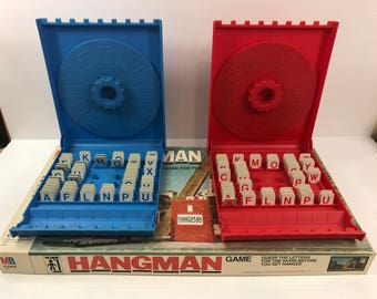 Hangman Vintage Board Game
