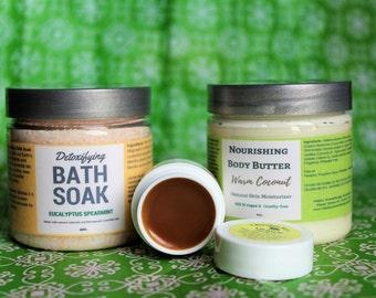 Mothers Day Gift, Mom Gift, Gift for Her, Bath Salt Set, Gift for Wife, Gift for Women, Gift for Sister, Gift for Girlfriend, Vegan Gift