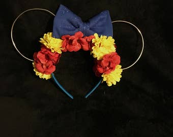 Snow White Wire Mouse Ears