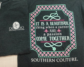 Southern Couture Beautiful Life tee NEW