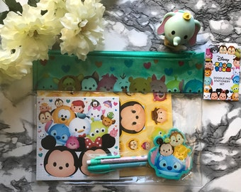 Tsum Tsum Stationery Set|Planner Stickers|Mickey Minnie Mouse