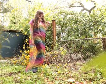 Rainbow Aura Dress