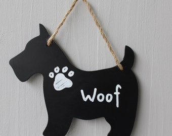 westie scottie chalkboard small