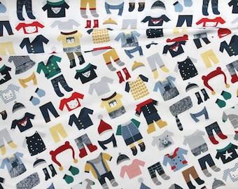 Bundle Up   Wee Gallery Cotton Fabric Dear Stella Designs   BTY