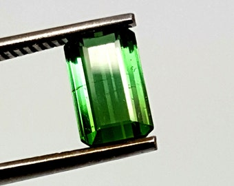 Natural Green Tourmaline 1.05 Carats Gemstone For Sale