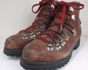 Vintage Timberland Nordic Hiking Backpacking Mountaineering Boots USA Sz 7 1/2 W