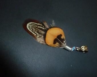Dreadlock Feather, Dread Jewelry, Feather for Dreadlocks, Dread bead, Dread Cuff, different Colours