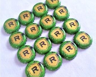 20 (Green) Redd's Apple Ale Beer Bottle Caps