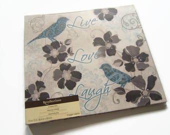 Bird Scrapbook Album - Family Photo Scrapbook Album - Wedding Scrapbook Album - Bird Photo Album - Family Photo Album - Wedding Photo Album
