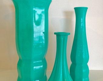Turquoise, Vase Set, Home Decor, Party Decor