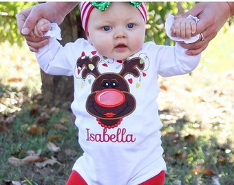 Christmas Shirt, Girls Christmas Shirt, personalized Christmas Shirt, Reindeer Shirt, Holiday Shirt, Leopard Christmas, Shirt, glitter