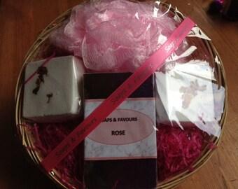 Handmade Rose Gift Set