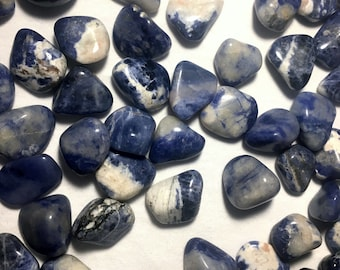 Tumbled Sodalite Small Size