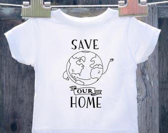Earthy Toddler Shirt
