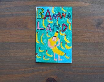 Zine, Banana Land, Art Zine
