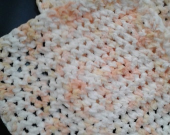 Handmade Cotton Chenille Dishcloths (set of 4)