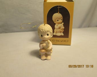 Precious Moments E-5388, 1984, Dove, Joy To The World