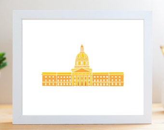 "Legislature Building // 8x10"" Archival Print"