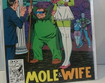 1991 The Sensational She-Hulk #33 She Hulk In Wedding Dress With The Mole Man  VF-NM Vintage  Marvel Comic Book