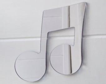 Music Note - Quaver Acrylic Mirror