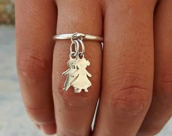 BABY SILVER RING