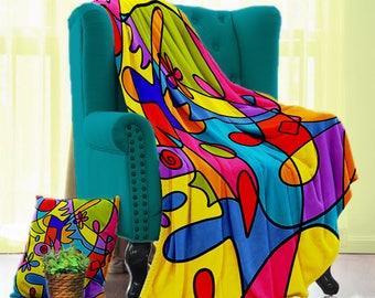 """Imagicolor 50"""" x 60"""" Velveteen Blanket"""