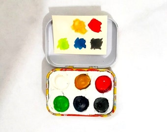 watercolor paint-watercolor paint set-watercolor palette-gifts for artists-christmas gift ideas-christmas gifts for kids