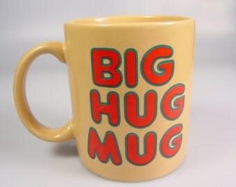 Big Hug coffee Mug True Detective HBO Matthew McConaughey cheer up love Valentines day gift FTD florist cup Vintage prop display