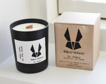 Clean Linen, Scented Soy Candle, 100 % Soy Wax, Fresh Clean Scented, 200g/7oz Glass Candle, Woodwick, Handmade/Hand Poured, Made In Denmark