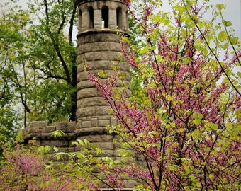 Spring Time on Round Top Gettysburg - Photograph