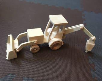 Wooden Digger