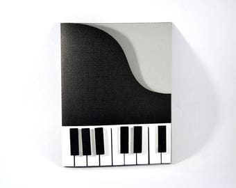 Piano Card / Birthday Card/ Musical Instrument Card / Card for Dad/ Wife / Husband / Friend / Colleague/ Teacher/ Anniversary Card