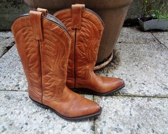 "Vintage  Santiags ,women or men country  boots  "",boots ""Western"","