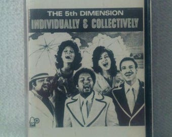 The 5th Dimension Individually & Collectively Cassette Tape