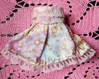 Cute Strapless Pastel Unicorn Skies lolita dress for Yosd BJD