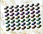 Glitter Sneakers (planner stickers)