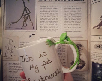 Bowtruckle Mug. Fantastic beasts and where to find them.