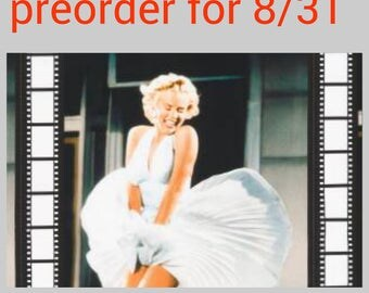 Marilyn Monroe - vintage fabric - material - fabric - sewing -supply notion - bty - 1 yard