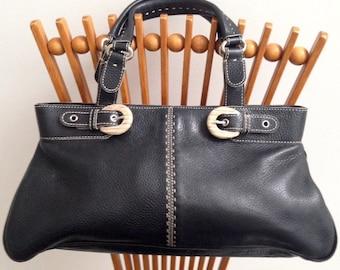 Vintage Adrienne Vittadini Leather Tote