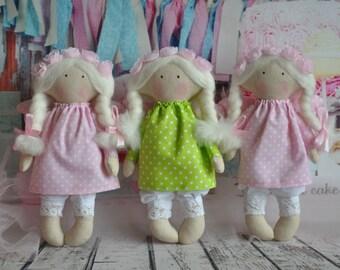 Little fairy ,tilda, tilda doll, fabric doll, handmade doll,  rag doll, art doll, cloth doll, bella doll, bambole stoffa, home decoration