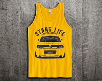 Ford Mustang GT Tank Top, Ford t shirts, Mustang shirts, cars tanks, Muscle car t shirts, Ford racing Unisex Tank top by Motomotiveink