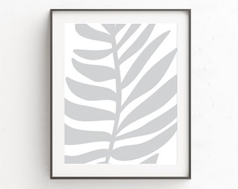 Wall Art, Botanical Print, Palm Leaf Print, Palm Leaves Print, Digital Prints, Tropical Leaf Print, Leaf Print, Wall Decor, Tropical Leaves