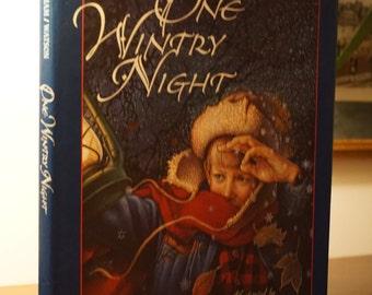 One Wintry Night/Ruth Bell Graham/1994/ Children's Book Christmas Story/ Religious Story/ Christian Children's Book