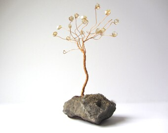 Handmade Gold Wire Tree